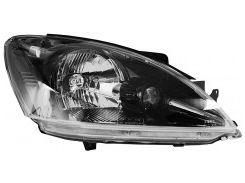 Фара передняя для Mitsubishi Lancer 9 '04-09 правая (DEPO) черн. механич.