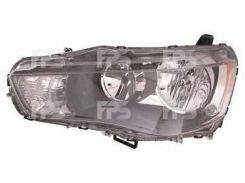 Фара передняя для Mitsubishi Outlander XL '10-12 левая (FPS) нелинзованная электрич.