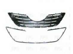 Решетка радиатора для Toyota Camry V40 '06-10 хром/черная (FPS)
