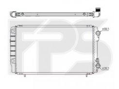 Радиатор охлаждения двигателя для RENAULT (NRF) FP 56 A749-X