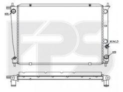 Радиатор охлаждения двигателя для HYUNDAI (OEM) FP 32 A679