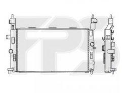 Радиатор охлаждения двигателя для OPEL (NRF) FP 52 A311-X
