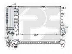 Радиатор охлаждения двигателя для BMW (NRF) FP 14 A24-X