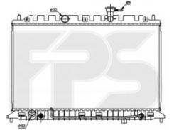Радиатор охлаждения двигателя для KIA (OEM) FP 40 A1431-X