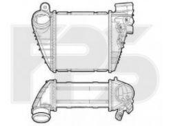 Интеркулер для SEAT / SKODA / VW (NISSENS) FP 74 T64