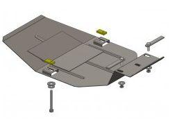 Защита редуктора заднего моста для Ford Kuga '08-13, V-2,0 TD; 2,5TDI (Кольчуга)
