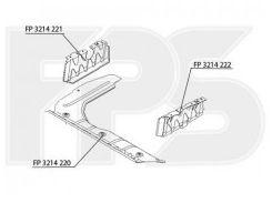 Защита двигателя пластиковая для Hyundai Accent '06-10 FP 3214 222 (FPS)