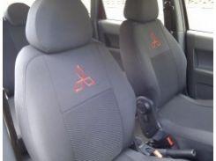 Авточехлы для салона Mitsubishi Pajero Wagon 4 '07-, 7 мест (Элегант)