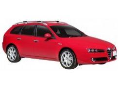 Багажник на рейлинги для Alfa Romeo 159 Sportswagon '05-11, вровень рейлинга (Whispbar-Prorack)