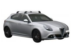 Багажник на крышу для Alfa Romeo Giulietta '10-, до края опоры (Whispbar-Prorack)