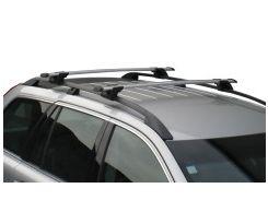 Багажник на рейлинги для Audi A4 Allroad '08-, сквозной (Whispbar-Prorack)