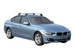 Багажник в штатные места для BMW 3 F30 '12-, до края опоры (Whispbar-Prorack)