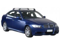 Багажник в штатные места для BMW 3 E90 '05-11, до края опоры (Whispbar-Prorack)