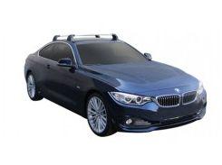 Багажник в штатные места для BMW 4 F32 '14-, до края опоры (Whispbar-Prorack)