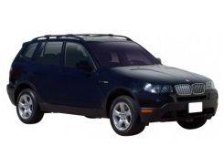 Багажник на рейлинги для BMW X3 E83 '03-09, вровень рейлинга (Whispbar-Prorack)
