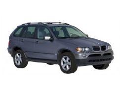 Багажник на рейлинги для BMW X5 E53 '00-07, вровень рейлинга (Whispbar-Prorack)