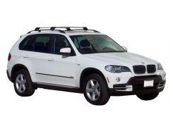 Багажник на рейлинги для BMW X5 E70 '07-13, до края опоры (Whispbar-Prorack)