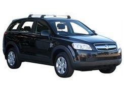 Багажник на крышу для Chevrolet Captiva '06-, до края опоры (Whispbar-Prorack)