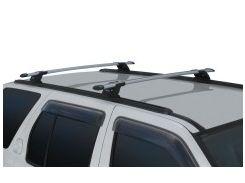 Багажник на Т-направляющие для Chevrolet Captiva '06-, сквозной, направляющие в к-кте (Whispbar-Prorack)