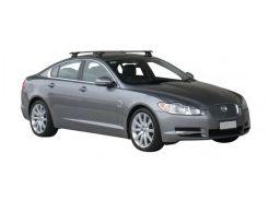 Багажник на крышу для Jaguar XF '09-15, сквозной (Whispbar-Prorack)