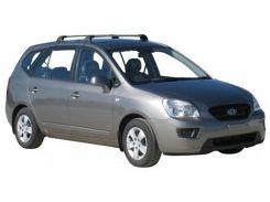 Багажник на крышу для Kia Carens '07-12, до края опоры (Whispbar-Prorack)