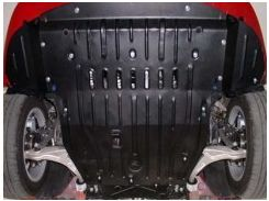 Защита картера двигателя для Alfa Romeo 159 '05-11 2,4, JTD (Полигон-Авто)