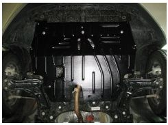 Защита картера двигателя для Audi A1 '10- 1,2; 1,4 TSSi (Полигон-Авто)