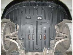 Защита картера двигателя для Audi A4 '05-08 1,8; 1,8Т; 2,0, АКПП (Полигон-Авто)