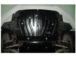 Защита картера двигателя для Audi A5 '07- 1,8TSi; 2,0TFSi, 4x4, АКПП (Полигон-Авто)