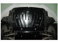 Защита картера двигателя для Audi A5 '12- 2,0TFSi, 4x4, АКПП (Полигон-Авто)