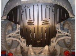 Защита картера двигателя для Audi A6 '97-05, МКПП (Полигон-Авто)