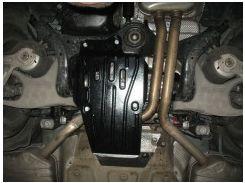 Защита дифференциала (с электроблокировкой) для Audi A6 '11-,2,0; 3,0TFSi, АКПП, 4x4 (Полигон-Авто)