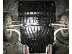 Защита картера двигателя для Audi A6 '11- 2,0TFSi; 2,0TDI; 2,8TFSi (Полигон-Авто)
