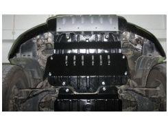Защита радиатора для Toyota Prado 120 '03-09, 2,7; 3,0D (Полигон-Авто)