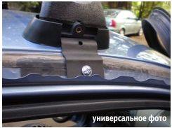 Багажник в штатные места для Opel Astra H '04-15, седан/хетчбэк, сквозной (Десна-Авто)