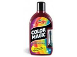 Полироль с карандашом Turtle Wax Color Magic Plus темно-красный (500мл)