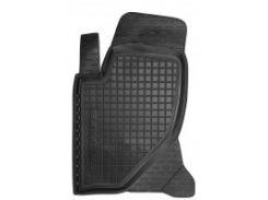 Коврик в салон водительский для Great Wall Hover / H3 '05- резиновый, черный (AVTO-Gumm)