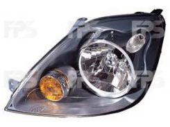 Фара передняя для Ford Fiesta '06-08 правая (DEPO) электрич. 1415694