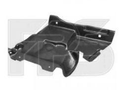 Защита двигателя пластиковая Citroen Berlingo '02-07, правая, боковая (FPS)