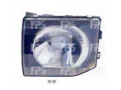 Фара передняя для Mitsubishi Pajero '91-97 правая (DEPO)