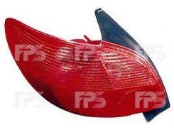 Фонарь задний для Peugeot 206 '98-03 левый (DEPO) 550-1921L-UE