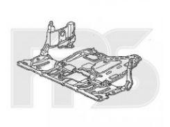 Защита двигателя пластиковая для Honda Accord '03-08 (FPS)