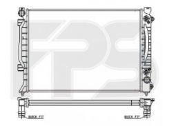 Радиатор охлаждения двигателя для AUDI (NRF) FP 12 A423-X