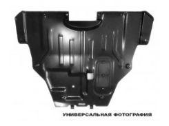 Защита двигателя Mitsubishi Outlander '03-07, боковая, левая (FPS)