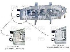 Фара передняя для Honda Accord 4 '92-93 правая (DEPO) механич. 217-1114R-LD-E