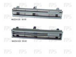 Решетка радиатора для Mazda 626 '88-96 (GD, GW) серая (Tempest)