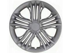 Колпаки на колеса R15 Fun Silver (Jestic)