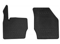 Коврики в салон передние для Volvo XC90 2003 - 2014 резиновые, черные (Stingray)