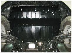 Защита картера двигателя для Skoda Yeti '09-17, 2,0TDI, 4x4 (Полигон-Авто)