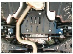 Защита дифференциала для Skoda Yeti '09-17, 2,0TDI, 4x4 (Полигон-Авто)